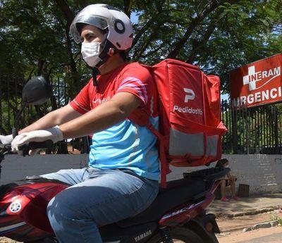 Exhortan a deliveries cumplir protocolos sanitarios y al manejo responsable de motos