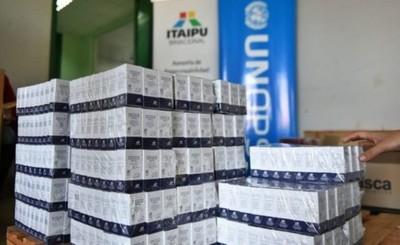 Itaipu entrega 1.200 unidades de vancomicina al Hospital Integrado