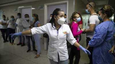 Mueren 9 trabajadores de la salud en 8 días en Venezuela por covid