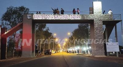 CON UN GRAN ACTO QUEDÓ INAUGURADO EL PÓRTICO DE SAN COSME
