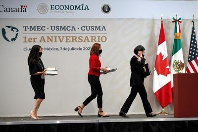 EE.UU. y Canadá examinan la reforma laboral mexicana tras un año del T-MEC