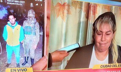 La foto de Jorgito que losasesinos enviaron a la familia