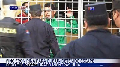Presos fingen  riña en el calabozo para que presunto narco se escape