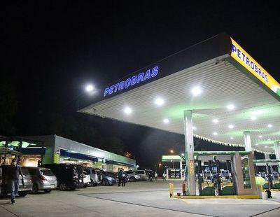 Innovadora estación de Petrobras, en Lambaré
