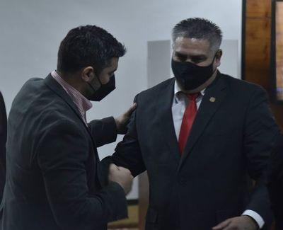 Nenecho asegura blanqueamiento al colocar a César Ojeda como intendente asunceno