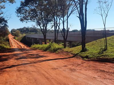 Puente de hormigón entre Minga Guazú y Los Cedrales habilitado al tránsito vehicular