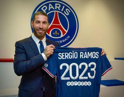 El Paris Saint-Germain oficializó la llegada de Sergio Ramos