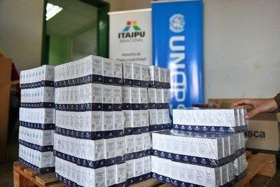 Itaipu entregó 1.200 unidades de vancomicina para el tratamiento de pacientes con covid-19 en Alto Paraná