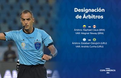 El árbitro de Paraguay-Perú dirigirá la final de la Copa América – Prensa 5