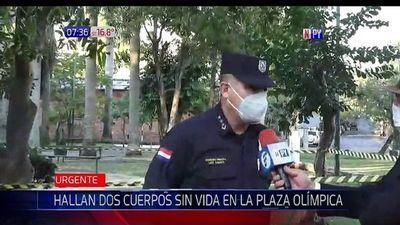 Hallan sin vida a dos ciudadanos extranjeros en plaza de Asunción