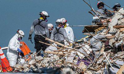 Suspenden búsqueda de sobrevivientes y pasan a recuperación de cuerpos en derrumbe de Miami