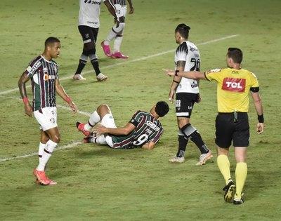 ¿No llega ante Cerro? El capitán y referente de Fluminense se lesiona a días de la Libertadores