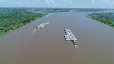 Puerto de Asunción registra 0.65cm y se pronostica bajante extrema