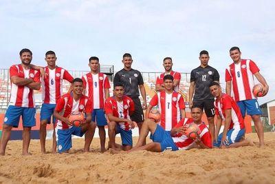 Paraguay, al Grupo A del Mundial de Fútbol Playa