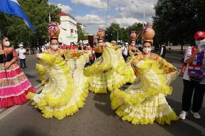 Ballet paraguayo se destaca por su destreza y belleza en Rusia
