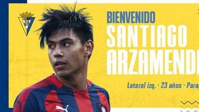 El Cádiz hace oficial la llegada de Santiago Arzamendia
