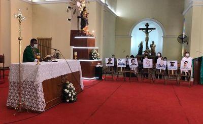 En misa en honor a víctimas, piden fin de los secuestros en el Norte