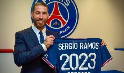 Sergio Ramos y su primera aventura fuera de España: Jugará en el PSG hasta el 2023