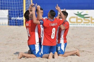 Los 'Pynandi' ya conocen a sus rivales en el Mundial de Fútbol de Playa