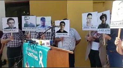 """Familiares de secuestrados repudian """"nula respuesta de las autoridades"""""""