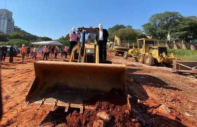 Comenzó construcción de Costanera Sur, la vía que unirá entre Asunción y Lambaré