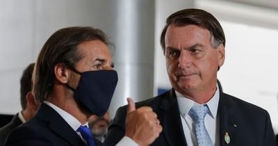 """La Nación / Bolsonaro critica """"regla del consenso"""" y """"visiones arcaicas"""" del Mercosur"""