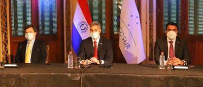 Paraguay insta a no retroceder en la integración y que el Mercosur sea una herramienta para la recuperación