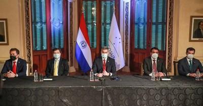 "La Nación / Mario Abdo: ""Somos 4 miembros. No queremos un Mercosur de 3 o 2 países"""