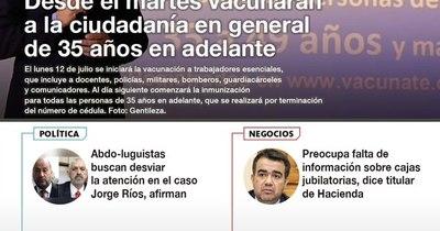 La Nación / LN PM: Las noticias más relevantes de la siesta del 8 de julio