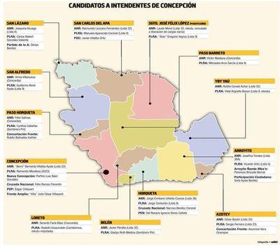"""Concepción alista las municipales sin """"Concordia""""  pero en """"zona roja"""""""