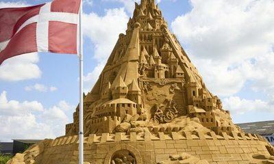 Construyen el castillo de arena más grande del mundo
