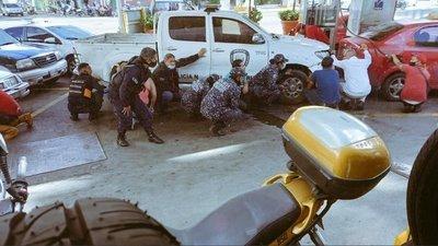 Tras horas de tiroteos, policía comienza operativo en peligrosas barriadas de Caracas (Imágenes)
