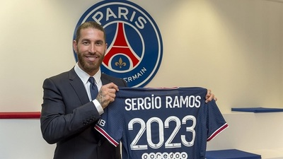 El ambicioso París Saint-Germain se refuerza con Sergio Ramos
