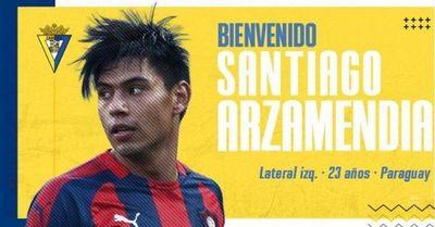 Cádiz hace oficial la llegada de Santiago Arzamendia
