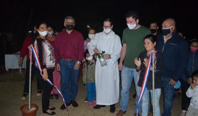 Villarrica: Inauguran empedrado en el barrio San Miguel