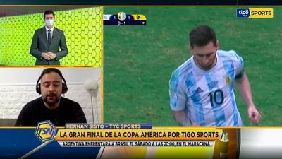 Hernán Sisto en contacto con Tigo Sports Noticias