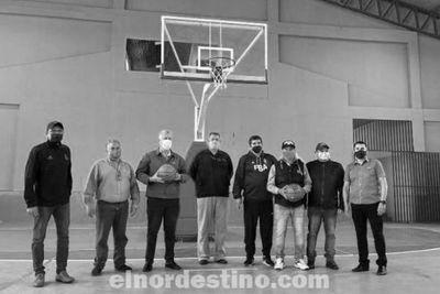 A todo Deporte el Progreso Continúa en Pedro Juan Caballero; equipando la Ex Diben y el Estadio Municipal Robert Acevedo