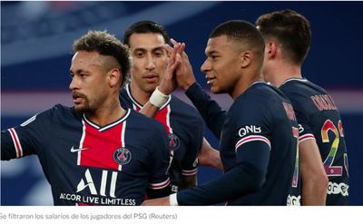Difundieron los salarios de los futbolistas del PSG: cuánto ganan Neymar, Mbappé y los jugadores argentinos