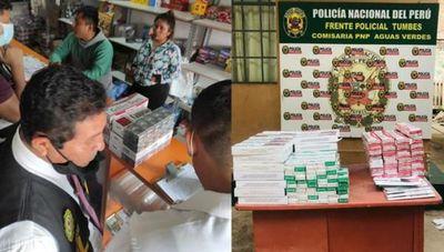 Cayó en Perú una carga de cigarrillos paraguayos de contrabando