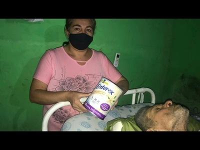 RESPONSABLE DE ACCIDENTE LO DEJÓ ABANDONADO, QUEDÓ EN ESTADO VEGETATIVO Y SOLICITA AYUDA