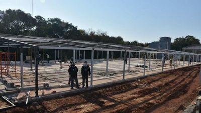 Pabellón del hospital encarnaceno contará con 32 camas más de UTI
