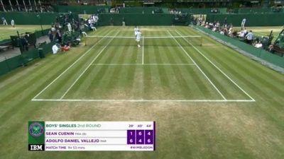 Vallejos va a octavos en Wimbledon