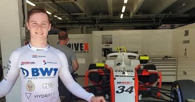 La Nación / Duerksen corre en la Fórmula 3