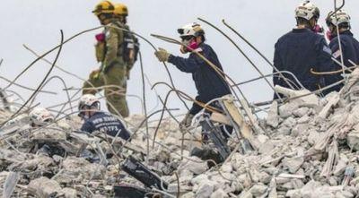 Derrumbe en Miami: confirman hallazgo de los cuerpos de tres paraguayos