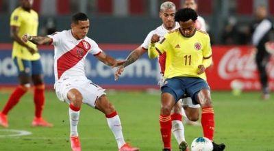 Colombia y Perú se miden por el tercer lugar y pensando en las eliminatorias