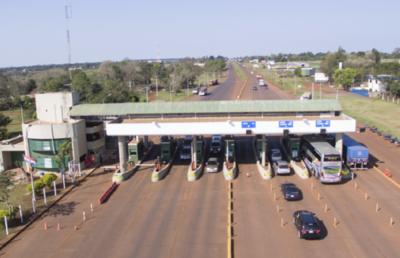Primer telepeaje en el tramo entre Caaguazú hasta Ciudad del Este, usuarios pueden solicitar su pase