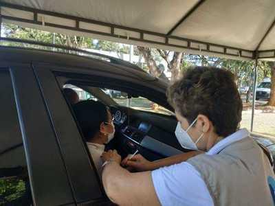 Habilitan otro autovac en Alto Paraná y vacunas se distribuyen a todos los distritos desde lunes