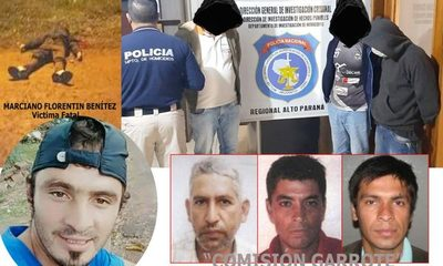 """Integrante de """"comisión garrote"""" que disparó y mató a albañil sigue prófugo – Diario TNPRESS"""