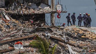 Derrumbe en Miami: Tres de nuestros compatriotas continúan desaparecidos