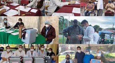 Voluntarios de vacunatorios piden ser inmunizados – Prensa 5